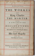 Books:World History, Basilika. The Works of Kings Charles the Martyr: With aCollection of Declarations, Treaties, and Other PapersConcernin...