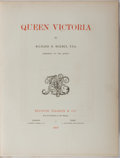 Books:Biography & Memoir, Richard R. Holmes. Queen Victoria. Boussod, Valadon & Co., 1897. Lavishly illustrated with engraved plates. Cont...