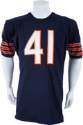 Football Collectibles:Uniforms, 1966-68 Brian Piccolo Game Worn Chicago Bears Jersey, MEARS A10....