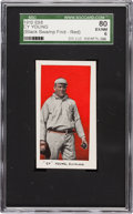 "Baseball Cards:Singles (Pre-1930), 1910 E98 ""Set of 30"" Cy Young SGC 80 EX/NM 6 - Black Swamp Find...."