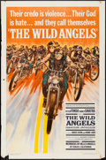 "Movie Posters:Exploitation, The Wild Angels (American International, 1966). One Sheet (27"" X41""), and Lobby Cards (3) (11"" X 14""). Exploitation.. ... (Total: 4Items)"