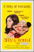 """Movie Posters:Sexploitation, Cindy and Donna (Crown International, 1970). One Sheet (27"""" X 41"""").Sexploitation.. ..."""