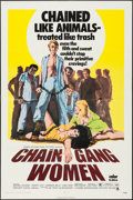 "Movie Posters:Bad Girl, Chain Gang Women (Crown International, 1971). One Sheet (27"" X41""), and Photos (7) (8"" X 10""). Bad Girl.. ... (Total: 8 Items)"