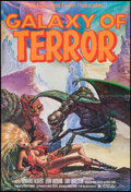 "Movie Posters:Science Fiction, Galaxy of Terror (New World, 1981). One Sheet (27"" X 41""). ScienceFiction.. ..."