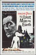 """Movie Posters:Science Fiction, The Last Man on Earth (American International, 1964). One Sheet(27"""" X 41""""). Science Fiction.. ..."""
