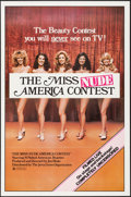 "Movie Posters:Sexploitation, The Miss Nude America Contest (Jerry Gross, 1976). One Sheet (27"" X41""). Sexploitation.. ..."