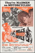"Movie Posters:Exploitation, Hell's Bloody Devils (Independent-International, 1970). One Sheet(27"" X 41""). Exploitation.. ..."