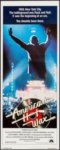 """Movie Posters:Rock and Roll, American Hot Wax (Paramount, 1978). Insert (14"""" X 36""""). Rock andRoll.. ..."""
