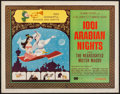 """Movie Posters:Animation, 1001 Arabian Nights and Others Lot (Columbia, 1959). Half Sheets (4) (22"""" X 28""""). Style B. Animation.. ... (Total: 4 Item)"""