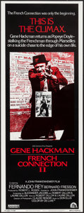 """Movie Posters:Action, French Connection II (20th Century Fox, 1975). Insert (14"""" X 36""""). Action.. ..."""