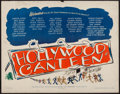 """Movie Posters:Musical, Hollywood Canteen (Warner Brothers, 1944). Half Sheet (22"""" X 28"""").Musical.. ..."""