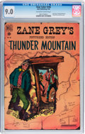 Golden Age (1938-1955):Western, Four Color #246 Thunder Mountain (Dell, 1949) CGC VF/NM 9.0 Off-white to white pages....
