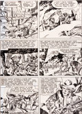 "Original Comic Art:Panel Pages, Jack Kirby Boys' Ranch #1 ""The Man Who Hated Boys"" Page 12Original Art (Harvey, 1950)...."