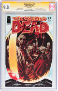 Modern Age (1980-Present):Horror, Walking Dead #27 Signature Series (Image, 2006) CGC NM/MT 9.8 Whitepages....
