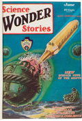 Pulps:Science Fiction, Science Wonder Stories Bound Volume (Stellar Publishing, 1929)....