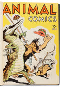 Golden Age (1938-1955):Funny Animal, Animal Comics #1-30 Bound Volumes (Dell, 1942-48).... (Total: 5Comic Books)