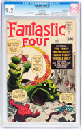 Silver Age (1956-1969):Superhero, Fantastic Four #1 White Mountain pedigree (Marvel, 1961) CGC NM- 9.2 White pages....