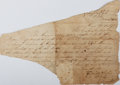 Autographs:U.S. Presidents, Zachary Taylor Partial Letter Signed....