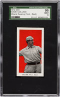 "Baseball Cards:Singles (Pre-1930), 1910 E98 ""Set of 30"" Eddie Collins SGC 96 Mint 9 - Black SwampFind. Pop Two, Highest SGC Known! ..."