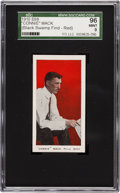 "Baseball Cards:Singles (Pre-1930), 1910 E98 ""Set of 30"" Connie Mack SGC 96 Mint 9 - Black Swamp Find,Highest SGC Known! . ..."