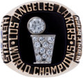 Basketball Collectibles:Others, 1985 Los Angeles Lakers NBA Championship Ring....