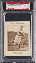 Baseball Cards:Singles (Pre-1930), 1912 E300 Plow's Candy Christy Mathewson PSA NM-MT 8....