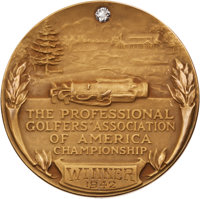 1942 PGA Championship Gold Medal Won by Sam Snead-His First Major Victory