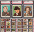 Non-Sport Cards:Sets, 1959 Fleer Three Stooges Complete Master Set (99) - #2 on the PSASet Registry. ...