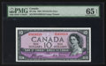 Canadian Currency: , BC-32a $10 Devil's Face. ...