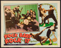 "Movie Posters:Rock and Roll, Rock Baby Rock It (Freebar Distributors Inc., 1957). Lobby Card(11"" X 14""). Rock and Roll.. ..."