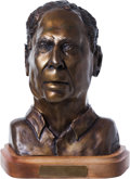 Miscellaneous Collectibles:General, 1991 Ellsworth Vines Bronze Bust....