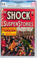 Golden Age (1938-1955):Horror, Shock SuspenStories #2 (EC, 1952) CGC VF/NM 9.0 Off-white pages....