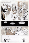 Original Comic Art:Panel Pages, Frank Miller and Klaus Janson Daredevil #177 Page 12Original Art (Marvel, 1981)....