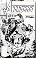 Original Comic Art:Covers, Tom Morgan Avengers #333 Doctor Doom Cover Original Art(Marvel, 1991)....