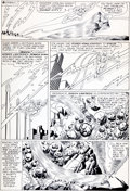 Original Comic Art:Panel Pages, Gil Kane and Sid Greene Green Lantern #43 Co-Starring TheFlash Page 21 Original Art (DC, 1966)....