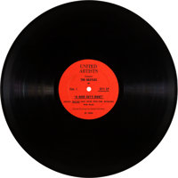 Beatles A Hard Day's Night Promo Recorded Interview (United Artists SP-2359, 1964)