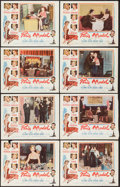 """Movie Posters:Comedy, Paris Model (Columbia, 1953). Lobby Card Set of 8 (11"""" X 14""""). Comedy.. ... (Total: 8 Items)"""
