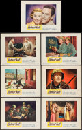 "Movie Posters:War, Retreat, Hell! (Warner Brothers, 1952). Lobby Cards (7) (11"" X14""). War.. ... (Total: 7 Items)"