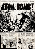 "Original Comic Art:Complete Story, Wally Wood Two-Fisted Tales #33 Complete 7-Page Story ""AtomBomb!"" Original Art (EC, 1953).... (Total: 7 Original Art)"