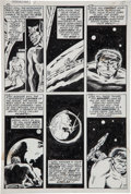 Original Comic Art:Panel Pages, Herb Trimpe and Mike Esposito The Incredible Hulk #137 Page 7 Original Art (Marvel, 1971)....