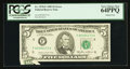 Error Notes:Printed Tears, Fr. 1978-F $5 1985 Federal Reserve Note. PCGS Very Choice New64PPQ.. ...