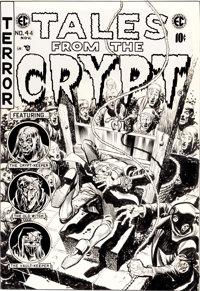 Jack Davis Tales From the Crypt #44 Cover Original Art (EC, 1954)