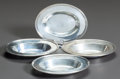 Silver Smalls:Other , A SET OF FOUR TIFFANY & CO. OVAL SILVER SALT DISHES. Tiffany& Co., New York, New York, circa 1946-47. Marks: TIFFANY& CO... (Total: 4 Items)