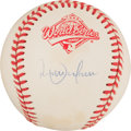 Autographs:Baseballs, Roberto Alomar Single Signed 1992 World Series Baseball. ...
