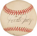 Autographs:Baseballs, Willie Mays And Harmon Killebrew Dual Signed Cronin Baseball....