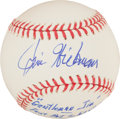 Autographs:Baseballs, Jim Hickman Single Signed Baseball With Lengthy Inscription....