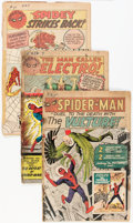 Silver Age (1956-1969):Superhero, The Amazing Spider-Man #2, 9, and 19 Group (Marvel, 1963-64) Condition: FR.... (Total: 3 Comic Books)