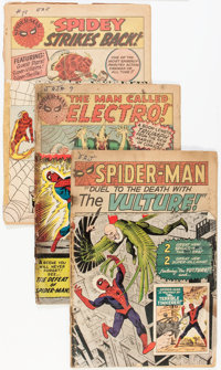 The Amazing Spider-Man #2, 9, and 19 Group (Marvel, 1963-64) Condition: FR.... (Total: 3 Comic Books)