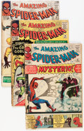 Silver Age (1956-1969):Superhero, The Amazing Spider-Man Group (Marvel, 1964-67) Condition: Average FR.... (Total: 7 Comic Books)