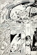 Original Comic Art:Panel Pages, George Perez and Mike DeCarlo Tales of the Teen TitansAnnual #3 Page 33 Original Art (DC, 1984)....
